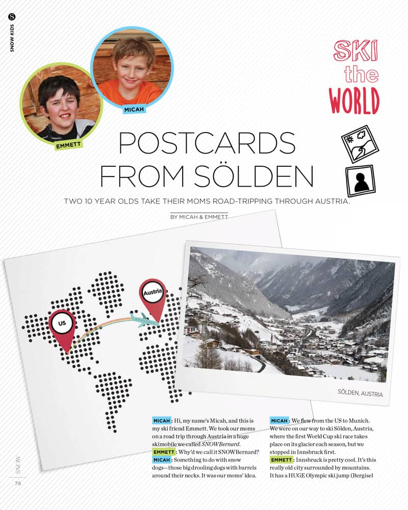 Postcards from Solden
